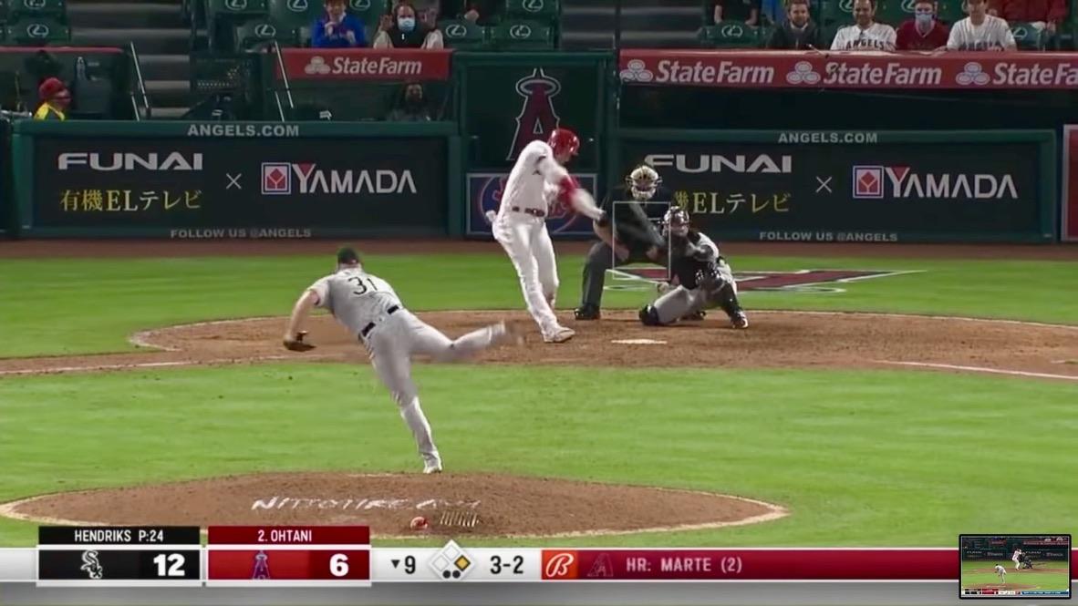 【MLB】大谷翔平、1号2ラン