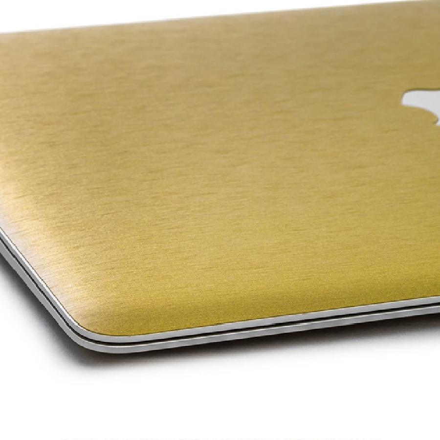 wraplus スキンシール - ゴールドブラッシュメタル